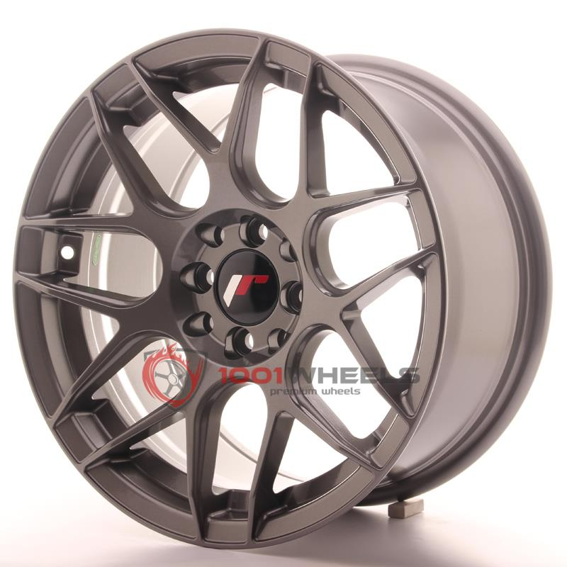 LLANTAS JAPAN RACING JR18 GUN-METAL