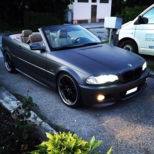 Llantas Butzi GTH en BMW e46 serie 3