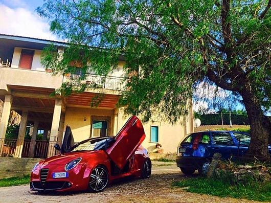 Llantas Lexani LX-7 en Alfa Romeo Mito