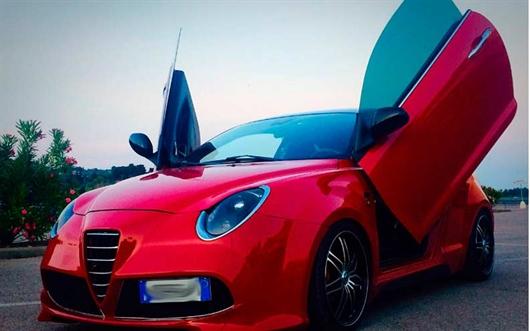 Alfa Romeo Mito con llantas Lexani Lx7
